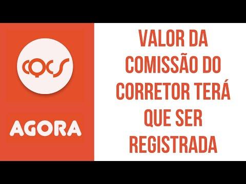 Imagem post: Valor da comissão do Corretor terá que ser registrada