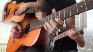 KJ - CHEEKI BREEKI full version (Guitar cover) [HD]
