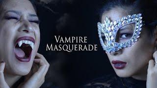 THE VAMPIRE DIARIES MASQUERADE - Sexy Vampire Halloween Makeup Tutorial
