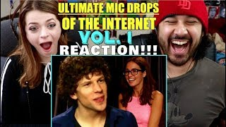 Ultimate MIC DROPS of The Internet - Vol. 1 - REACTION!!!