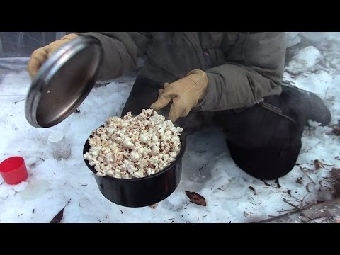 Make Campfire Popcorn The Old Fashioned Way