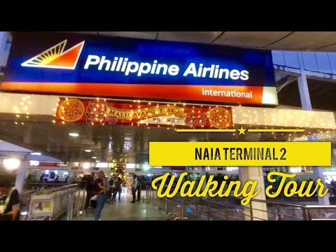 NAIA Terminal 2 Walking Tour: Philippine Airlines International Departure