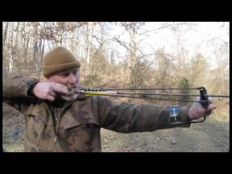 Video: Marksman 3075 Pocket Hunter Folding Slingshot Kit   Pyramyd Air