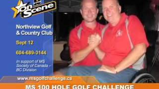 Take the 100 Hole Golf Challenge to help end MS