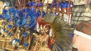 El carnaval de Sao Paulo se va hasta Bahía a ritmo de samba