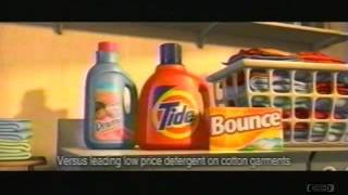 The Incredibles | Tide Downy Bounce | Television Commercial | 2004