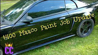 $400 Base Maaco Paint Job One Month Later