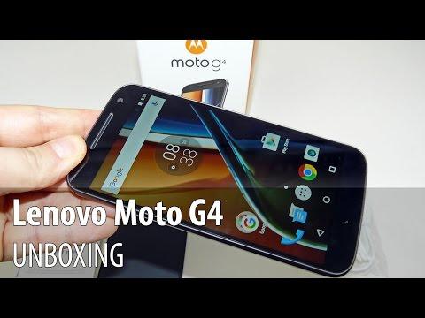 Lenovo Motorola Moto G4 Unboxing în Limba Română