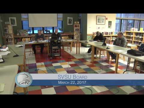 SVSU Board - 3/22/17