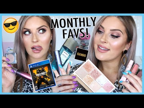 MONTHLY FAVS ? Favorite MAKEUP, SONG, GAMES, SKINCARE & MORE!