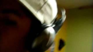 mc lalo grabando el tema de YO TE AME feat rasec second's producciones