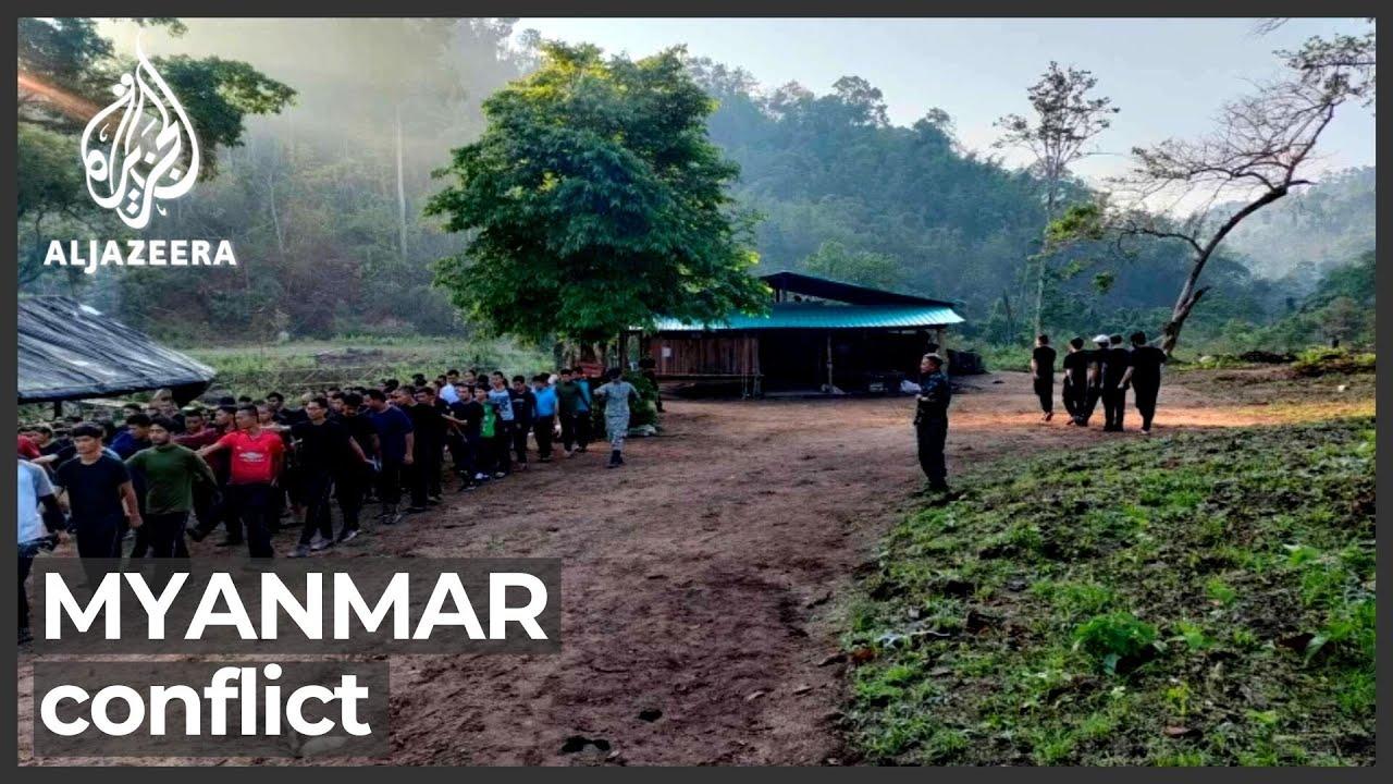 Fighting Erupts in Eastern Myanmar near Thai Border