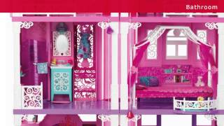 Barbie Toys   Dream House Toy Review