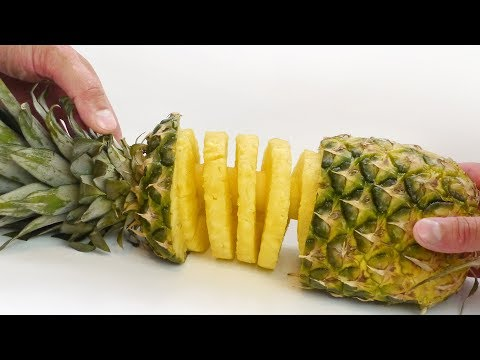 Pineapple Spiral –  Food Hack with Slicer Kitchen Gadget