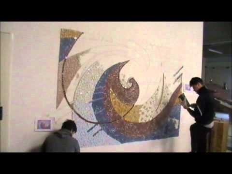 Come fare un mosaico con pezzi di piastrelle fai da te mania