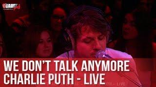 We don't talk anymore - Charlie Puth - Live - C'Cauet sur NRJ