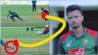 সাব্বিরকে দেওয়া ভুল আউটের ব্যাপারে ক্ষোভে একি বললেন মাশরাফি | bangladesh vs west indies 2018
