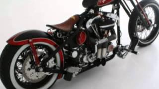 Cadillac Pussy Custom Bike