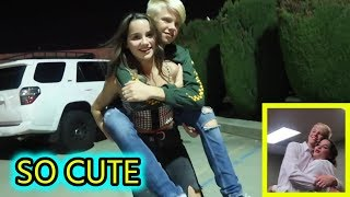 ANNIE LEBLANC AND CARSON LUEDERS CUTE MOMENTS | JULY 17th | Week.ly Musical.ly