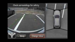 """Infiniti EX """"Around View Monitor"""" Birdseye Camera"""