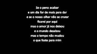 Diogo Piçarra-Tu e Eu(letra)