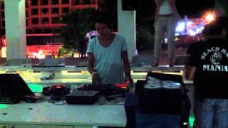 peterslounge b2b ERRO live at BEACH BAR MANIA,BG 03.08.2011. part.2