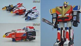 [TMT][245] DX Chogokin Jet Icarus! 超合金 ジェットイカロス! Choujin Sentai Jetman!