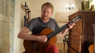 The Sound of Silence - Simon & Garfunkel (Acoustic Classical Guitar Fingerstyle Cover)