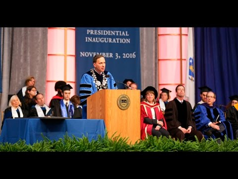 Inauguration of President Ronald D. Liebowitz