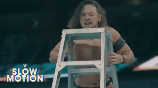 Slow-motion highlights from SmackDown LIVE's Six-Man Tag Team main event: Exclusive, June 14, 2017