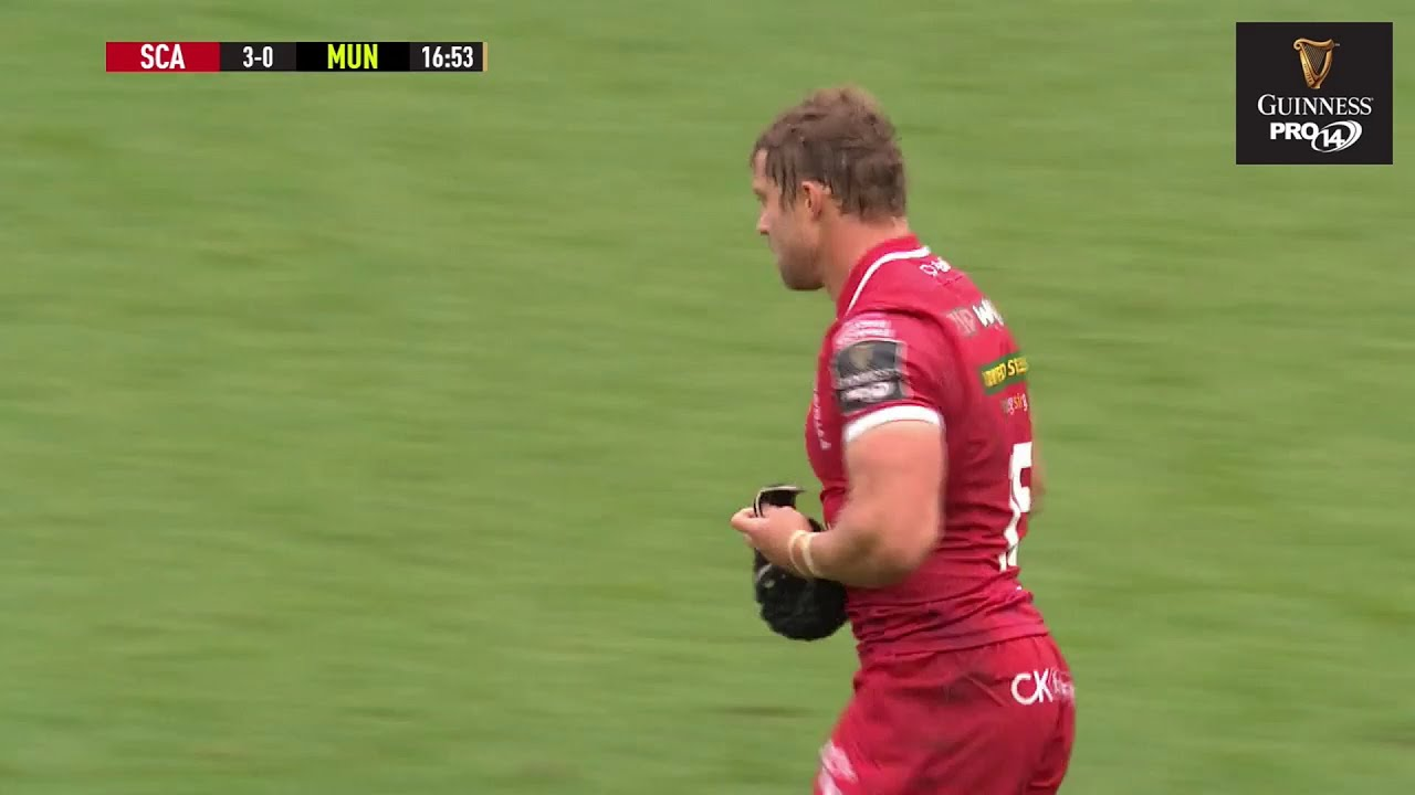 Scarlets v Munster – PRO14 Rugby Highlights
