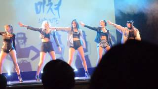 4MINUTE - Crazy cover dance (by J.A.Q) live Free-Time Fest