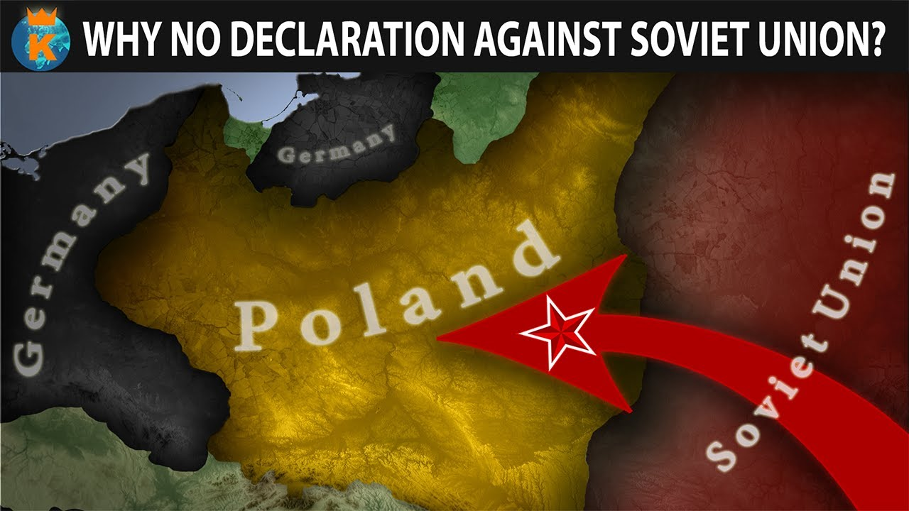 Why didn't the Allies Declare War on the USSR when they Invaded Poland?