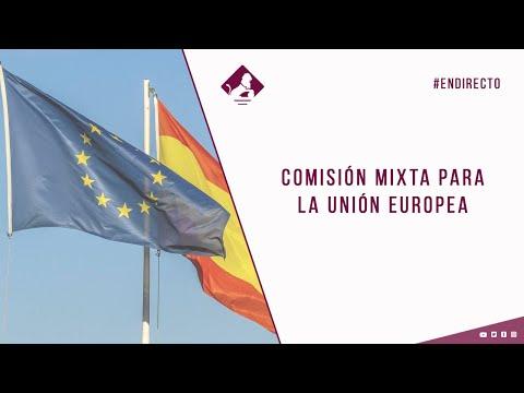 Comisión Mixta para la Unión Europea (09/12/2020)