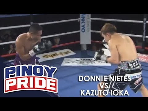 Pinoy Pride 45: Donnie Nietes vs. Kazuto Ioka