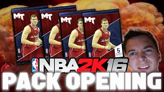 Another Rookie Box Pack Opening! NBA 2K16 My Team