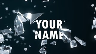 Awesome Free Intro Templates - The Best Diamond Logo/Name Reveals