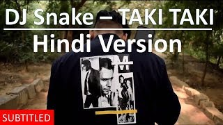 DJ Snake -Taki Taki | Hindi Version | Anmol Samuel | Cover Song | Hindi Lyrics