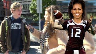 Super Bowl Or See Michelle Obama Speak?