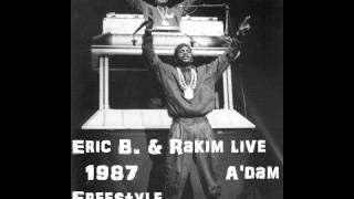 Eric B. & Rakim freestyle, 1987 Amsterdam