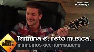 """Pablo Alborán """"vacila"""" a Pablo Motos en el reto musical - El Hormiguero 3.0"""