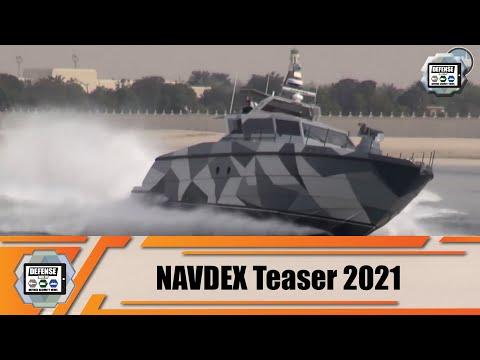 NAVDEX 2021 teaser International Defense Industry Exhibition Abu Dhabi United Arab Emirates