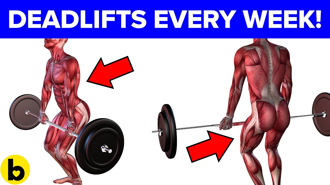 Doing Deadlifts once a week will do this to your Body