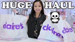 HUGE CLAIRES HAUL🐼 LOTS of CUTENESS!