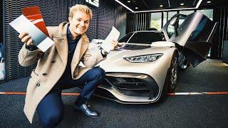 CUSTOMISING MY AMG PROJECT ONE!! | NICO ROSBERG | eVLOG