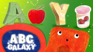 Learning Phonics Collection | ABC Phonics for Kids - Letters A & Y | Phonics Learning on ABC Galaxy
