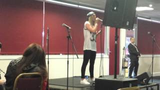 Louisa Johnson Live (Soccer Six Charlton 2015)