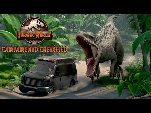JURASSIC WORLD: CAMPAMENTO CRETÁCICO - Tráiler Temporada 1 - (Netflix) - HD