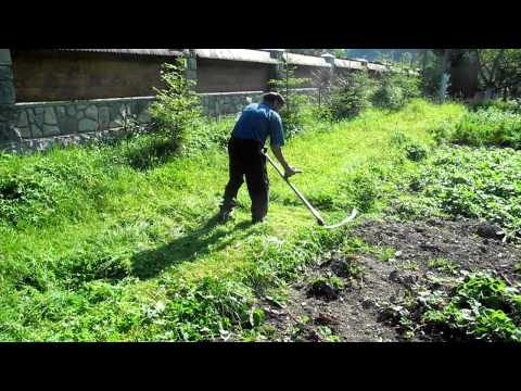 Traditional Ukrainian Lawn Mower
