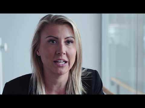 Green Cargo medarbetarporträtt Louise Berglund - IT